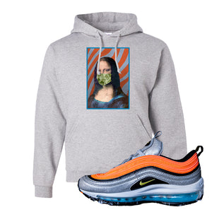 Air Max Plus Sky Nike Hoodie | Ash, Mona Lisa Mask