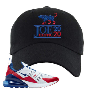 Air Max 270 USA Dad Hat | Black, Joe Exotic 2020
