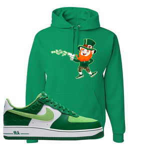 Air Force 1 Low St. Patrick's Day 2021 Hoodie | Leprechaun, Kelly
