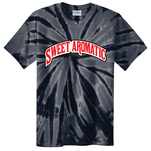 Backwoods Sweet Aromatic Black Tie-Dye T-Shirt