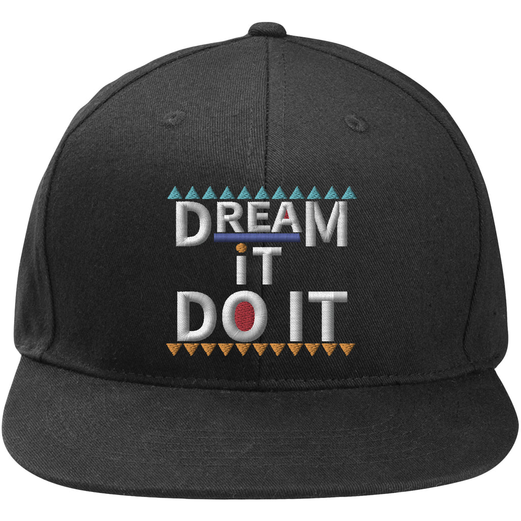 detailing 7619b 70104 Jordan 9 Dream It Do It Sneaker Matching Damn It Gina Black Snapback H –  Cap Swag