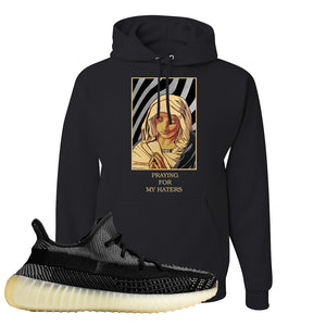 Yeezy Boost 350 v2 Carbon Hoodie | God Told Me, Black
