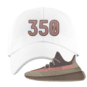 Yeezy 350 v2 Ash Stone Dad Hat | 350, White