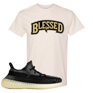 Yeezy Boost 350 v2 Carbon T Shirt | Blessed Arch, Natural