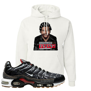 Air Max Plus Remix Pack Hoodie | Escobar Illustration, White
