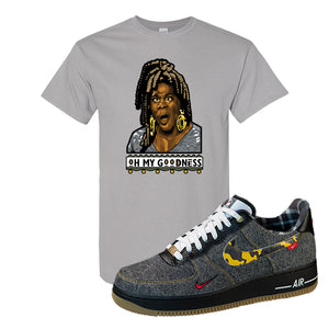 Air Force 1 Low Plaid And Camo Remix Pack T-Shirt | Oh My Goodness, Gravel