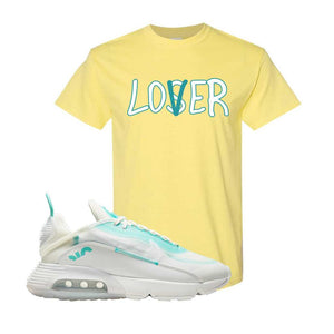 Air Max 2090 Pristine Green T Shirt | Cornsilk, Lover