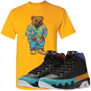 Shop sneaker matching clothing to match your pair of Jordan 9 Dream It Do It Sneakers. This Jordan 9 Dream It Do It sneaker matching item will perfectly match the Dream It Do It 9s.