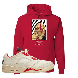 Air Jordan 5 Low Chinese New Year 2021 Hoodie | God Told Me, Red