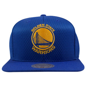 Golden State Warriors Royal Blue Mesh Jersey Snapback Hat