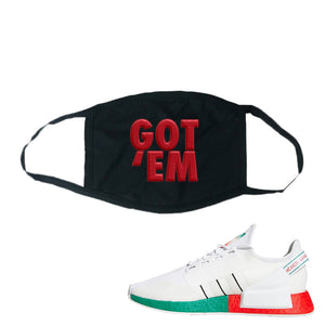 Nmd R1 V2 Ciudad De Mexico Face Masks To Match Sneakers Masks To
