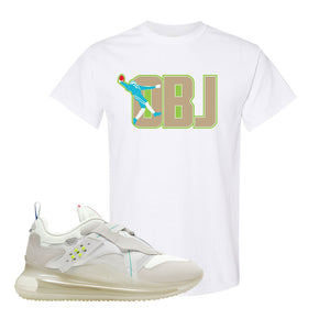 Air Max 720 OBJ Slip White T Shirt | White, OBJ Catch