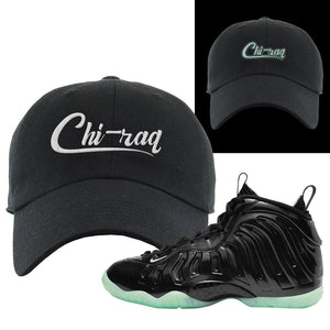 Foamposite One 2021 All Star Dad Hat | Chiraq, Black