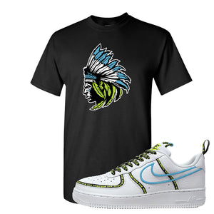 Air Force 1 '07 PRM 'Worldwide Pack' T Shirt | Black, Indian Chief
