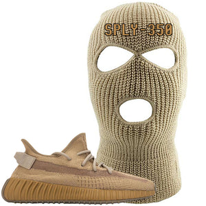 Yeezy Boost 350 V2 Earth Sneaker Ski Mask To Match | SPLY 350, Khaki
