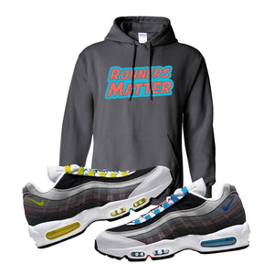 Air Max 95 QS Greedy Hoodie | Charcoal, Runners Matter