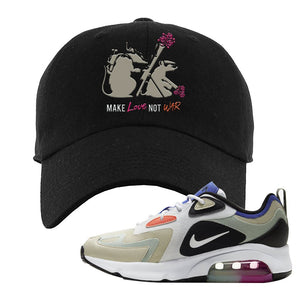 Air Max 200 WMNS Fossil Sneaker Black Dad Hat | Hat to match Nike Air Max 200 WMNS Fossil Shoes | Army Rats