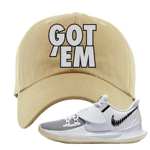 Kyrie Low 3 Dad Hat | Khaki, Got Em