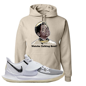 Kyrie Low 3 Hoodie | Sandstone, Watchu Talking Bout