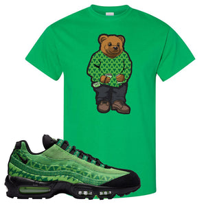 Air Max 95 Naija T Shirt | Sweater Bear, Irish Green