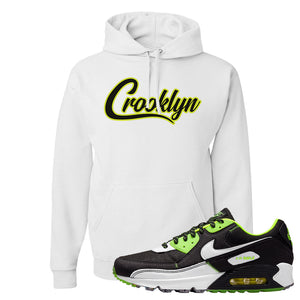 Air Max 90 Exeter Edition Black Hoodie | Crooklyn, White