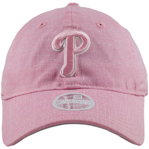 Women's Philadelphia Phillies Lovely Pink Linen Adjustable Baseball Cap