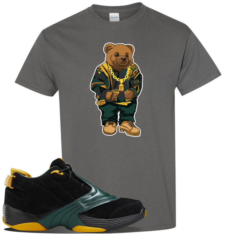 Answer 5 Bethel High Sneaker Charcoal T Shirt | Tees to match Reebok Answer 5 Bethel High Shoes | Sweater Bear