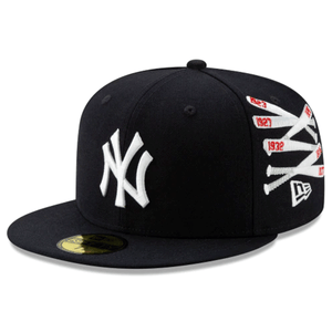 Embroidered on the front of the Spike Lee x New York Yankees Collab 59Fifty Fitted Cap is the New York Yankees logo in white