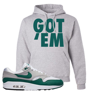 Air Max 1 Evergreen Hoodie | Got Em, Ash