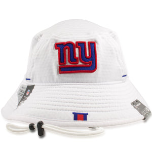 New York Giants 2019 Training Camp White Training Bucket Hat