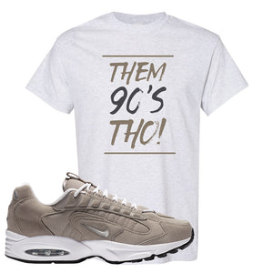 Air Max Triax 96 Grey Suede T Shirt | Them 90's Tho, Ash