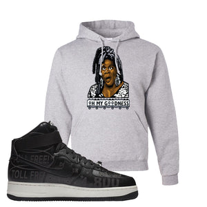 Air Force 1 High Hotline Hoodie | Oh My Goodness, Ash