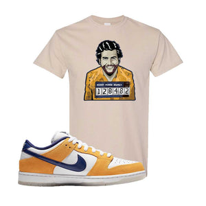 SB Dunk Low Laser Orange T Shirt | Sand, Escobar Illustration