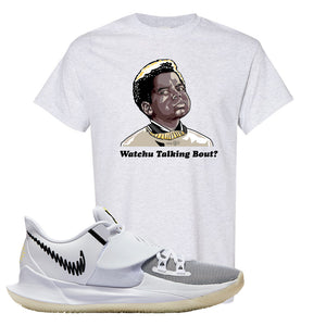 Kyrie Low 3 T Shirt | Ash, Watchu Talking Bout
