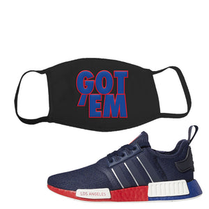 Nmd R1 Los Angeles Face Mask To Match Sneakers Masks To Match