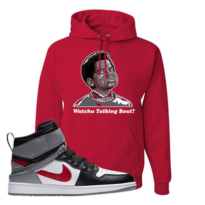 Air Jordan 1 Flyease Hoodie | Red, Wachu Talking Bout