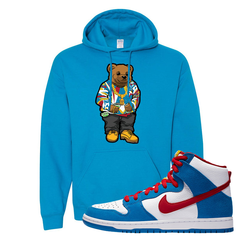SB Dunk High Doraemon Hoodie | Sweater Bear, Sapphire