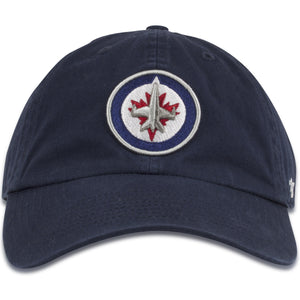 Winnipeg Jets Classic Navy Blue Dad Hat