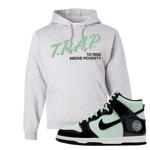 Dunk High All Star 2021 Hoodie | Trap To Rise Above Poverty, Ash