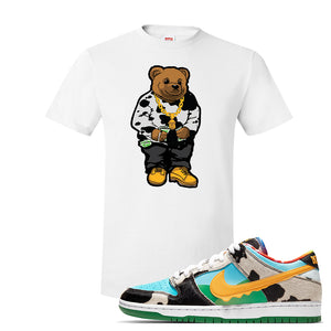 SB Dunk Low 'Chunky Dunky' T Shirt | White, Sweater Bear
