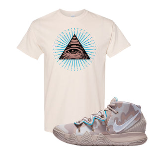 Nike Kybrid S2 What The Inline T-shirt | All Seeing Eye, Natural