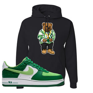 Air Force 1 Low St. Patrick's Day 2021 Hoodie | Sweater Bear, Black