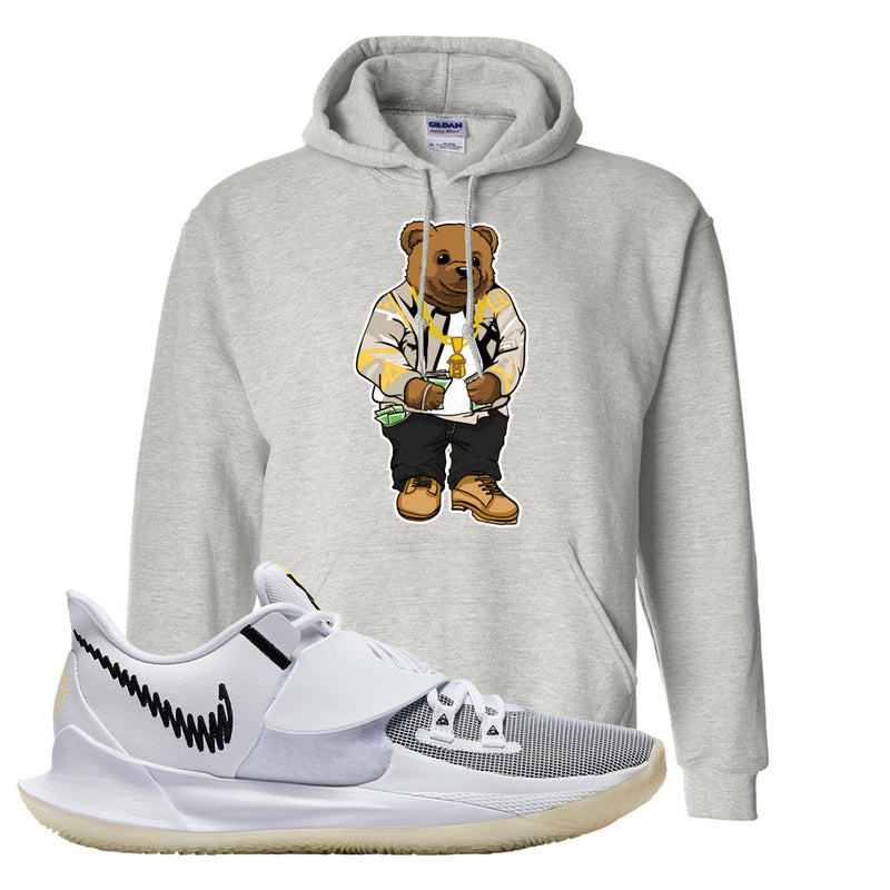 Kyrie Low 3 Hoodie | Ash, Sweater Bear