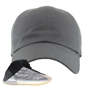 Yeezy Quantum Dad Hat | Dark Gray, BLANK