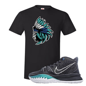Kyrie 7 Pre Heat T-Shirt | Indian Chief, Black