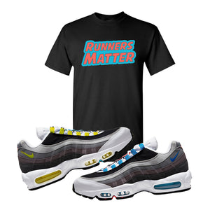 Air Max 95 QS Greedy T Shirt | Black, Runners Matter