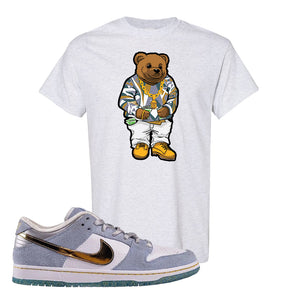 Sean Cliver x SB Dunk Low T Shirt | Sweater Bear, Ash