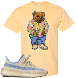 Yeezy Boost 350 V2 Linen T Shirt | Yellow Haze, Sweater Bear