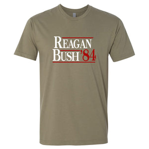 Standard Issue Reagan Bush '84 Safari Grunt Life T-Shirt