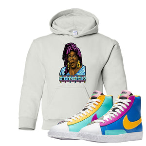 Blazer Mid Big Kids Hoodie | White, Oh My Goodness